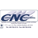 USINAGE CNC PRODUCTION INC